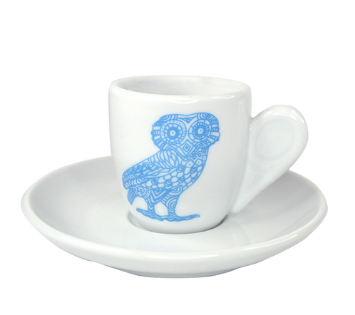 Owl espresso cup