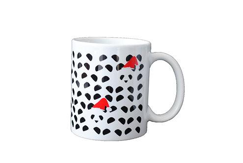 Christmas Panda - Porcelain Mug - Ploos for WWF
