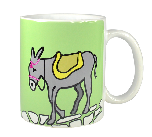 Greek Donkey Mug