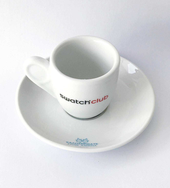 SWATCH club - custom espresso cup