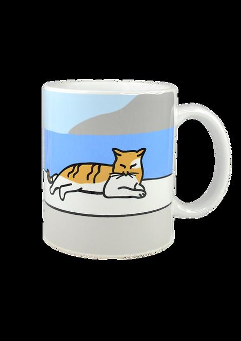 Aegean Cat Mug