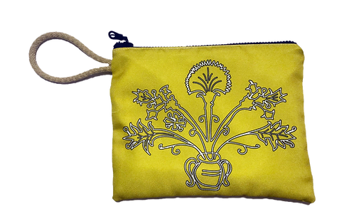 Yellow Flower - Pouch