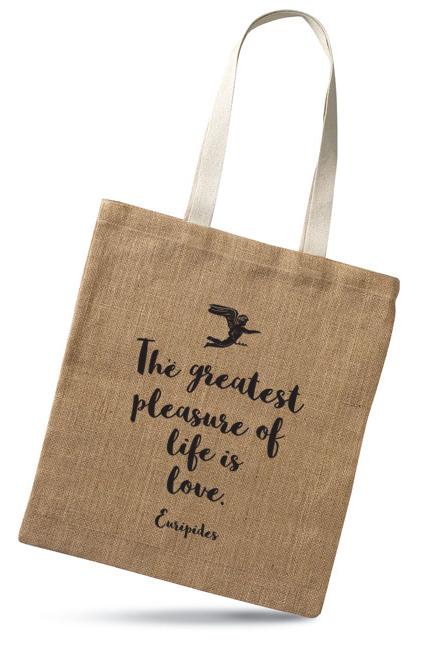 Love - jute bag