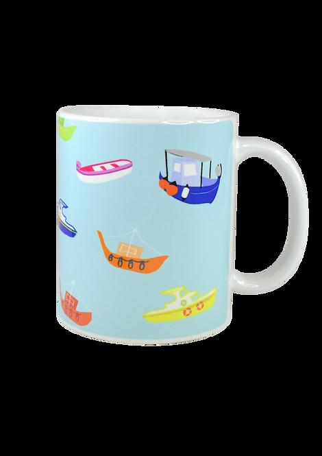 Boats Mug