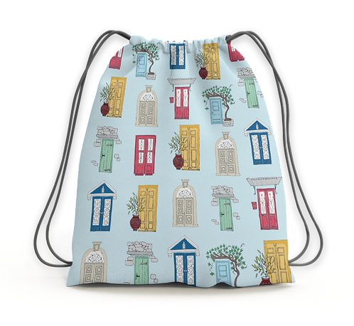 Doors - drawstring backpack