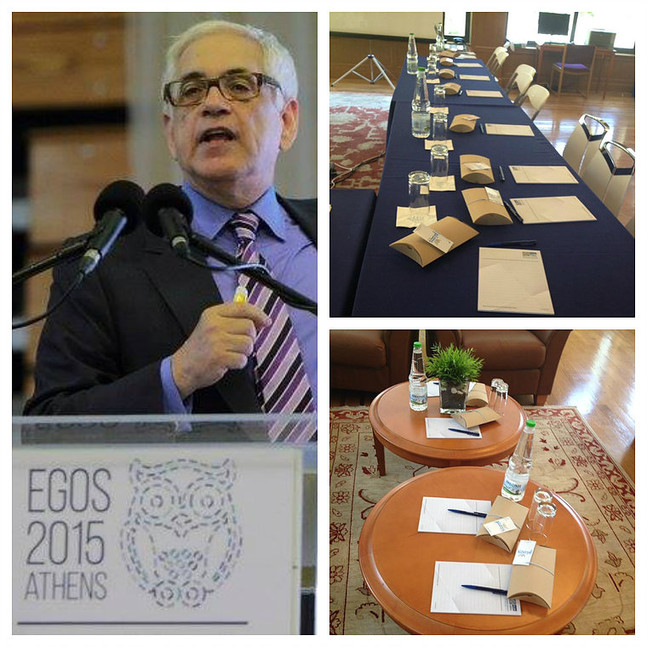 EGOS conference - gifts for attendants