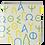 Thumbnail: Alphabet Ceramic Coaster