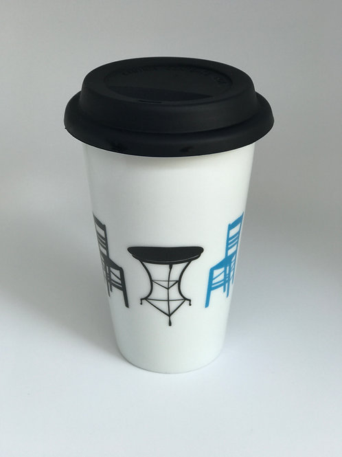 Double Coffee-to-go Mug - Kafenio