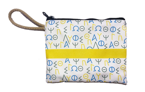Greek Letters - Pouch