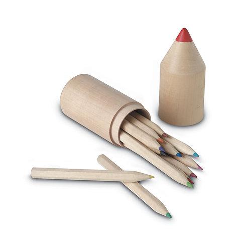 Custom colored Pencils in a case