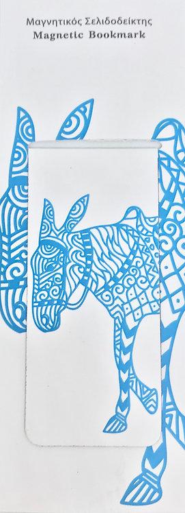 Magnetic Bookmark - Donkey