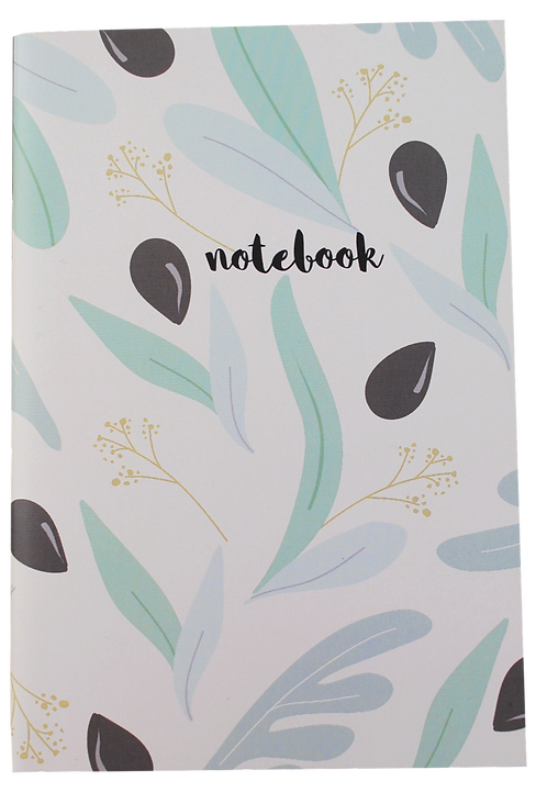 Olives - notebook (white pages)