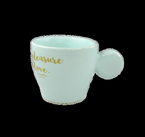 Handmade Ceramic Espresso - Wisdom begins in wonder