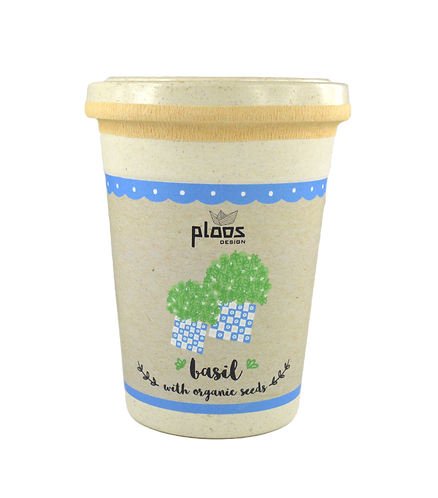 Custom Organic Seeds in a Cup