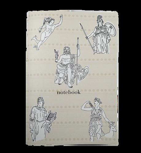 Greek Gods - Notebook