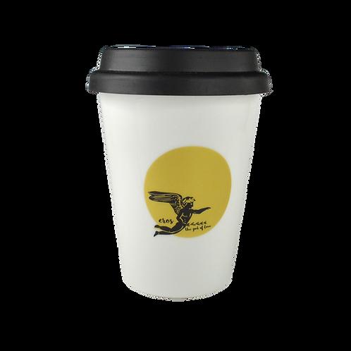 Eros Porcelain Coffee-to-go Mug