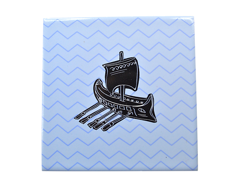 Galley Ceramic Coaster