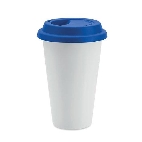 Custom Porcelain Double wall Travel Mug