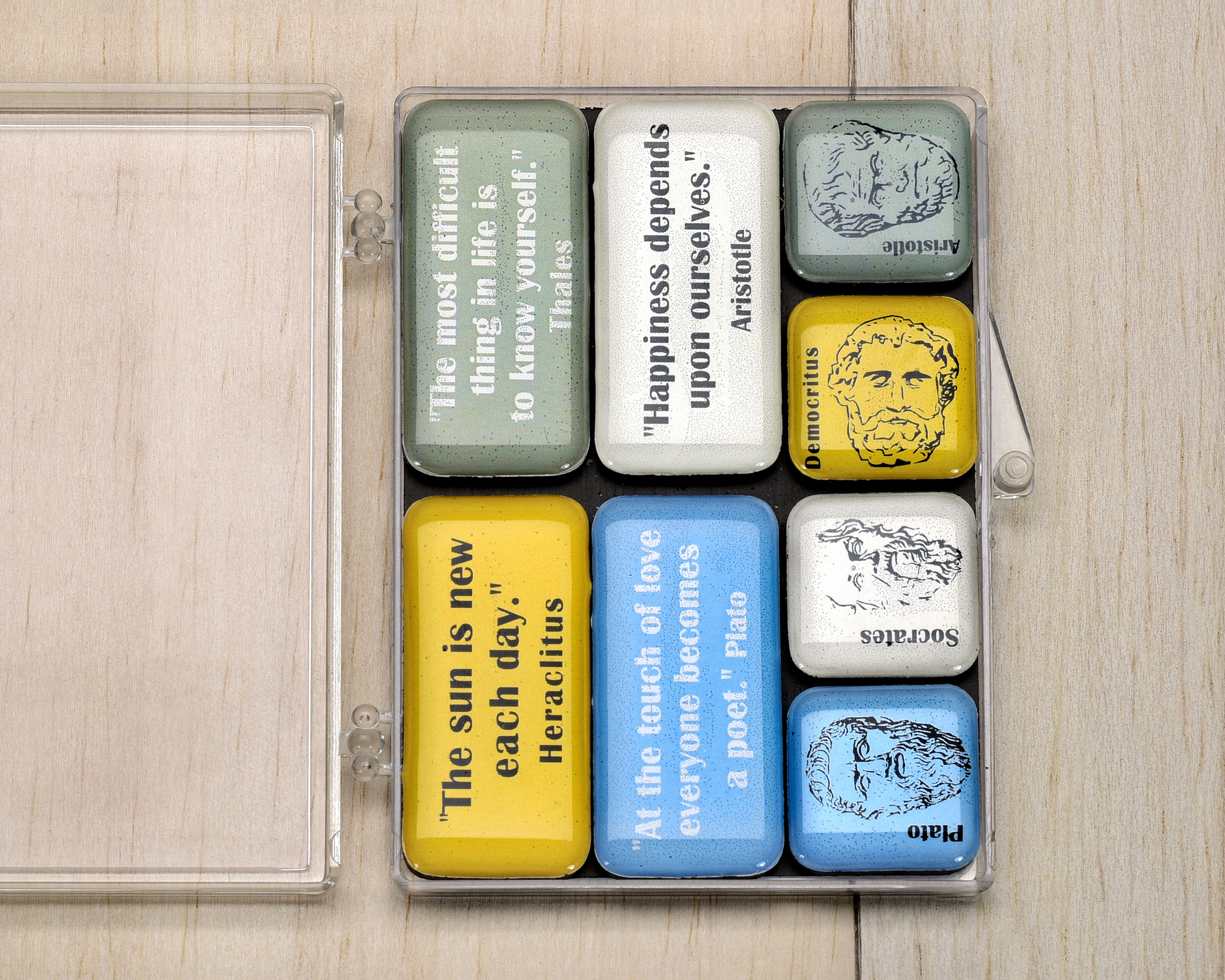 set epoxy magnets with quotes