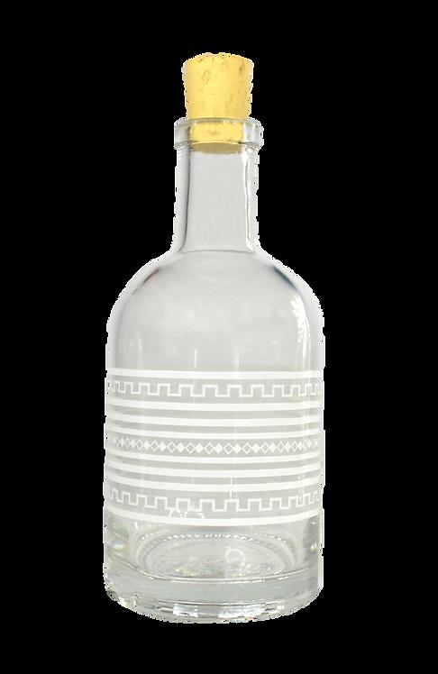 Glass Bottle - Ancient Motifs