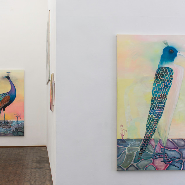 "exhibition view ""Cocktails and Horses"", Gallery Gerhard Hofland, Amsterdam 2018"