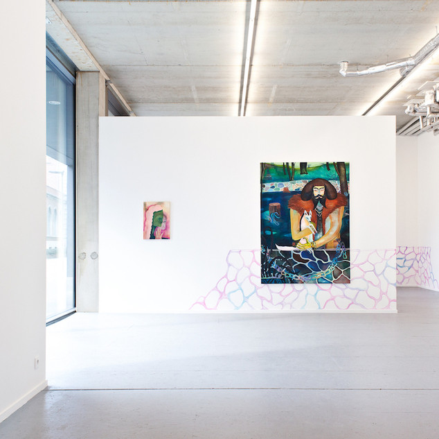 "exhibition view ""Drifters and Strollers"", Plus-One Gallery Antwerp, 2019"