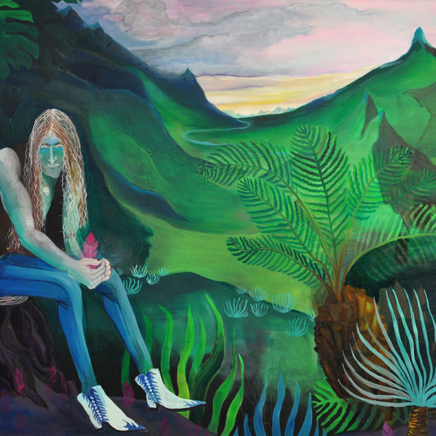 Lonely  2011 140 x 180 cm oil on canvas