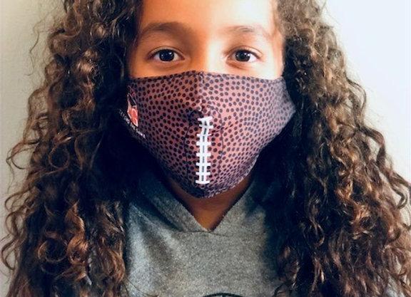 Beyond The Game Football Print Adjustable Mask