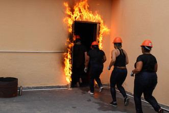 Brigada de incêndio: Complexo Maricá capacita colaboradores