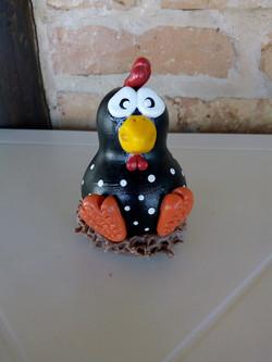 Galinha D'Angola em ninho de bisqui