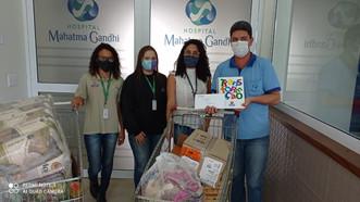 Hospital Mahatma Gandhi recebe doação da Citrosuco – Projeto Pescar em Catanduva-SP