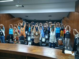 Associação Mahatma Gandhi realiza homenagem ao dia internacional da mulher no HEAPN – Rio de Janeiro
