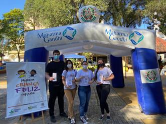"""Associação Mahatma Gandhi participa do """"Criança Feliz"""" em Alfredo Chaves-ES"""