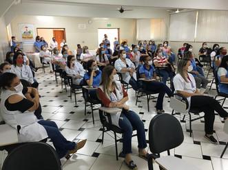 Evento para as Colaboradoras no Outubro Rosa da Associação Mahatma Gandhi, em Catanduva-SP