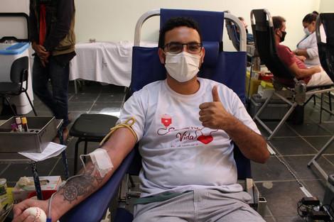 Sucesso marca a Campanha de doação de sangue em Maricá