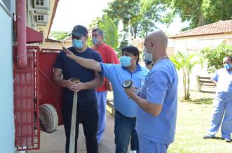 Sesmt do Hospital Mahatma Gandhi realiza treinamento de brigada de emergência
