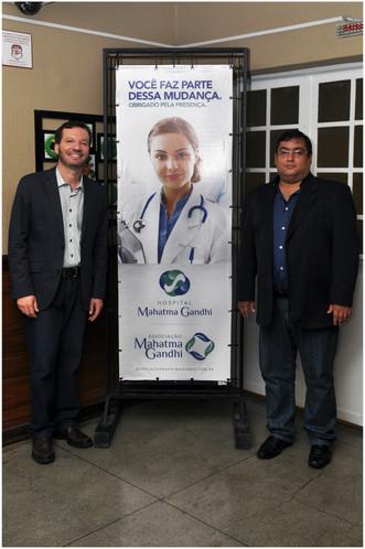 Mahatma Gandhi: Lançamento marca processo de modernização e novo conceito nos serviços de saúde