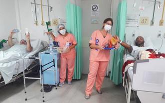 Associação Mahatma Gandhi realiza bingo com pacientes do HTO Dona Lindu, em Paraíba do Sul-RJ
