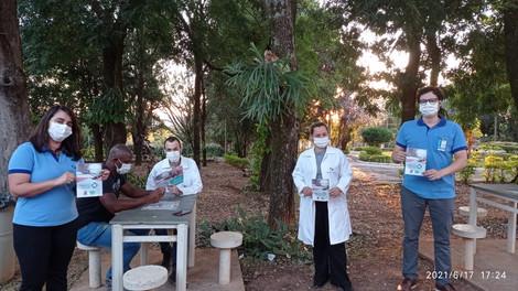 CIPA da Associação Mahatma Gandhi realiza campanha de prevenção à dengue em parceria com a EMCAA