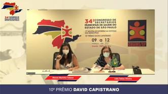 Equipe da Associação Mahatma Gandhi-Catanduva-SP, é premiada em congresso estadual de saúde