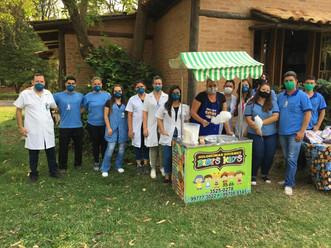 Menores internados no Hospital Mahatma Gandhi ganham festa do Dia das Crianças