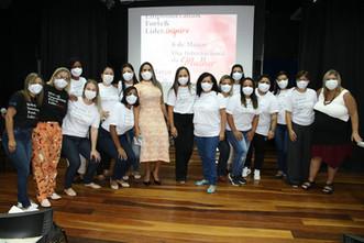 Associação Mahatma Gandhi promove ação especial pelo Dia da Mulher em Maricá-RJ