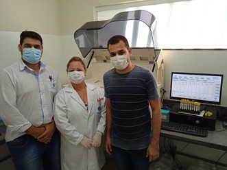 Associação Mahatma Gandhi instala novo equipamento no Laboratório de Araçatuba-SP