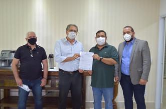 Hospital Mahatma Gandhi recebe a visita do Deputado Federal Carlos Zarattini