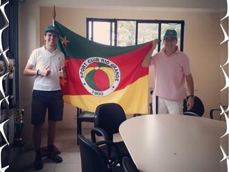 Ilustres torcedores, visitam o Clube de futebol 'Mais Antigo' do Brasil