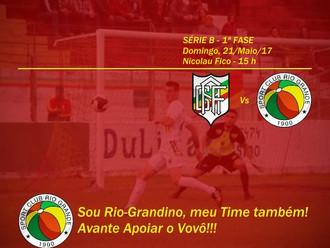 Próximo Foot-Ball Match, duelo de Tricolores no Nicolau Fico