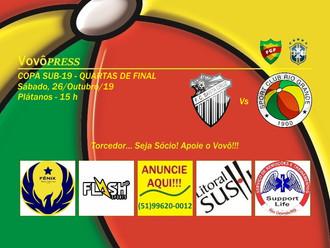 Quartas de Final, Vovô viaja a Santa Cruz do Sul para enfrentar o Galo Carijó
