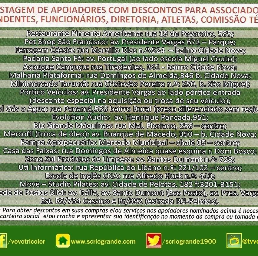 Apoiadores do Sport Club Rio Grande