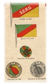 Bandeiras e Símbolos - Foto datada de 1914