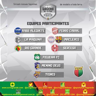 Vovô representa a cidade de Rio Grande, na Série Prata do Futsal Gaúcho